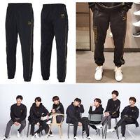 BTS PUMA LS TM Woven Pants Cl Black KPOP GOODS with Track Number