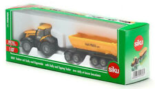 SIKU FARMER 1:87 Scale 1858 JCB TRACTOR with DOLLY & TIPPING TRAILER
