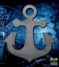 Ships Anchor Sail Boat Nautical Metal Wall Art Vintage Sign Beach House Decor