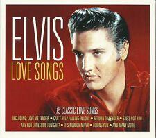 ELVIS LOVE SONGS - 3 CD BOX SET - 75 CLASSIC LOVE SONGS ELVIS PRESLEY
