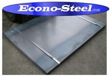STEEL PLATE 5MM THICK 2440x1230mm seconds, mulitple uses, see below for more.