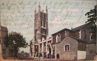 Irish Postcard ST MARYS CATHEDRAL CORK Ireland 1907 Lawrence Saxony Baltimore MD