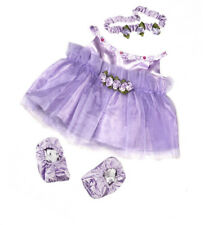 "Teddy Mountain Lavender Ballerina Dress Fits all 14""-18"""