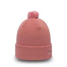 New Era Womens Waffle Blush Pink Gold Knit - New w/Tags - Quality Item & Brand