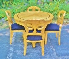 Elegant 5 pieces Biedermeier style Dining set