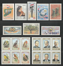 Syria, Complete Commemorative Year Sets 2013 According To SG. Cat., MNH..