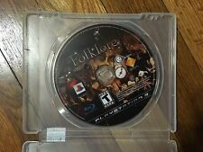 Folklore (Sony PlayStation 3, 2007) Disc & Case