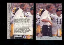 1993 Pro Set MIKE HOLMGREN Green Bay Packers Coach of the Year Card