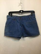 Vintage 70s Shorts Hot Pants Denim Sanforized Festival hippy Retro Cotton Summer