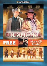 Once Upon A Texas Train (DVD, 2007, Bonus Willie Nelson CD) NEW!