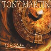 TONY MARTIN (ex Black Sabbath) - Scream (+1 Bonus)(2005) CD Jewel Case+FREE GIFT