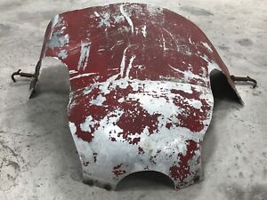 Vintage Piper Cub Upper Cowl Nose Bowl & Cowl Latches