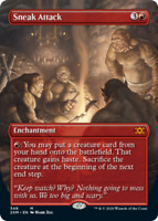 Sneak Attack - Borderless x1 Magic the Gathering 1x Double Masters mtg card
