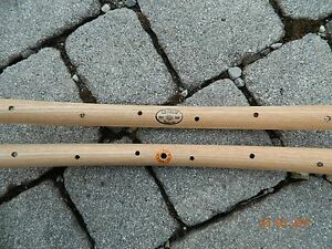 CB ITALIA pair (#2 rims) type ROUBAIX wooden rims for tubular tires - Holzfelgen