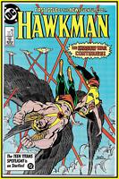 HAWKMAN #1 (1986) 1ST PRINT HAWKGIRL DCEU BLACK ADAM MOVIE KEY DC COMICS 9.4 NM