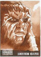British Horror Collection Sketch Card created by Clay Sayre [ C ]
