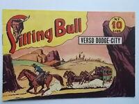 verso dodge-cityalbo saturniasitting bull71949fumetti western Marijac Dut