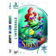 DISNEY DVD intégrale LA PETITE SIRENE n° 33, 56 et 92 NEUF sous blister