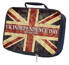 Brexit, British Flag Independence Day 2016 Navy Insulated School L, BRITISH-3LBN