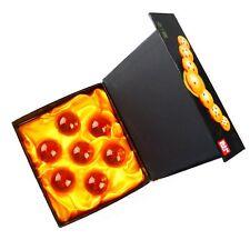 Dragon Ball Z Stars Crystal 4 cm Ball Set of 7pcs New In Box BT0011