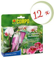 Sparset: 12 X Compo Orchideen-Aufbaukur, 5 x 30 ML