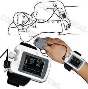 CE CONTEC Respiration Monitor Nose Flow, SPO2, Monitoraggio delle apnee notturne