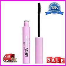wet n wild Mega Length Waterproof Mascara Very Black 0.21 Ounce Vitamin E brush.