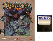 TURRICAN 3 : game Commodore AMIGA FLOPPY DISC  (read before) verbatim