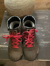 MENS COLUMBIA ORIGINAL ALPINE BOOTS SZ US 9 BROWN LEATHER HIKING WATERPROOF