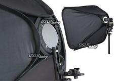 "24"" Portable Adjustable Speedlight 60cm Softbox for Studio Flash Light Speedlite"
