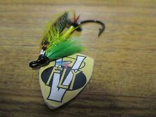 V Fly Size 2/0 Classic Fully Dressed Green Highlander Single Salmon Fly