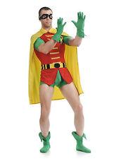 Lycra Spandex Robin Original Dick Grayson Robin Batman Zentai Costume Size S-XXL