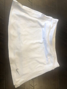 Nike White Girls Small Tennis Skirt