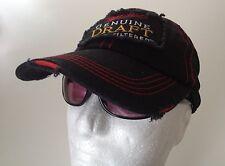 Black Miller Genuine Draft Adjustable Tattered Hat  Cotton / Mesh