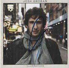 Josh Groban signed Illuminations cd