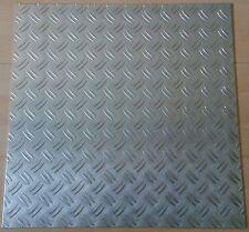 Aluminiumblech Aluplatte Platte Aluminium Riffelblech 495x495x2mm m2/ 40,77€