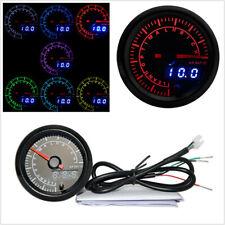 """2"""" 52mm 7 Colors LED Backlight Automobile Digital Air Fuel Ratio Gauge Meter 12V"""
