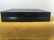 SONY CDP-CE500 5 Disc Compact CD Changer USB Player/Recorder Digital Optical