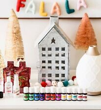 Young Living 12 Essential Oils Lot & Diffuser Premium Starter Kit Bundle