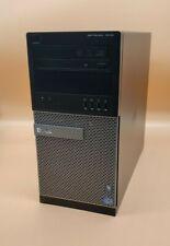 Dell Optiplex 7010 Tower Desktop PC Intel Core i7-3770 3.4GHz 8GB RAM Win10 Pro