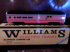 WILLIAMS CROWN EDITION SOUTHERN PACIFIC DAYLIGHT  ALUMINUM COMBINE CAR NEW W BOX