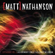 Nathanson, Matt : Vol. 2-Left & Right: Live at Newbury Com CD