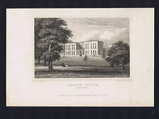 AMPORT HOUSE. HAMPSHIRE. Near Andover -Great Britain Engraving 1831