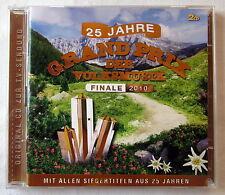 CD - 25 ans grand prix de la musique populaire-finale 2010 - 2 CD