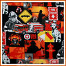 BonEful Fabric FQ Cotton Quilt Red Black US Fire Hydrant Truck B&W Dalmatian Dog