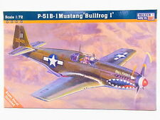 LOT 12447 | Mister Craft 030469 P-51 B-1 Mustang Bullfrog I 1:72 Bausatz NEU OVP