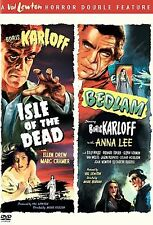 Isle of the Dead & Bedlam DVD Set NEW!  Val Lewton Double Feature  Boris Karloff