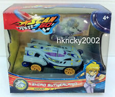 New Boy Scan2Go Shiro Sutherland Wolver Racer + Power Card & Turbo Card Pack