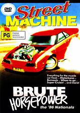 Street Machine 1986 NATIONALS Brute Horsepower DVD! V8s
