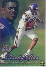 1998 98 Flair Showcase Randy Moss RC Row 2 #5 Rookie
